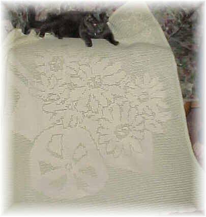 CrochetKim Free Crochet Pattern | Daisies Filet Afghan @crochetkim