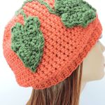A Little Slouchie Pumpkin Hat
