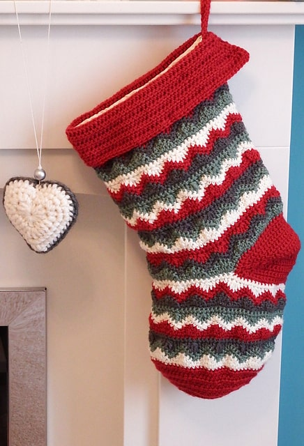 Free Crochet Pattern: Christmas Stocking