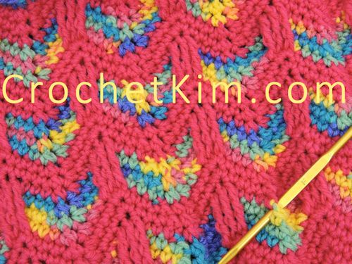 Circus Love Baby Cocoon and Hat Set | CrochetKim Free Crochet Pattern
