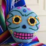 Free Crochet Pattern: Day of the Dead Pillow