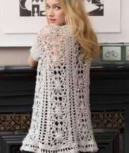Free Crochet Pattern: Fashion Forward Duster
