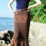 Free Crochet Pattern: Maxi Skirt