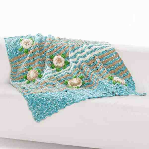 Free Crochet Pattern: Sea Turtle Blanket