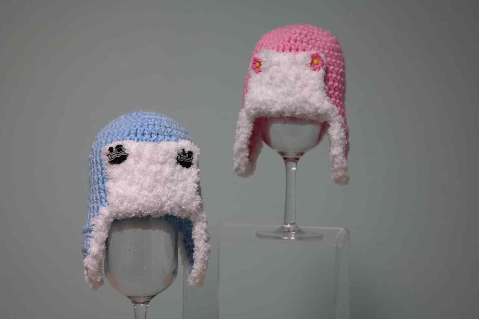 Fuzzy Earflap Hat Free Crochet Pattern Crochetkim