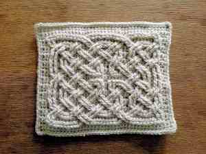 Free Crochet Pattern: Book of Kells Square Knot