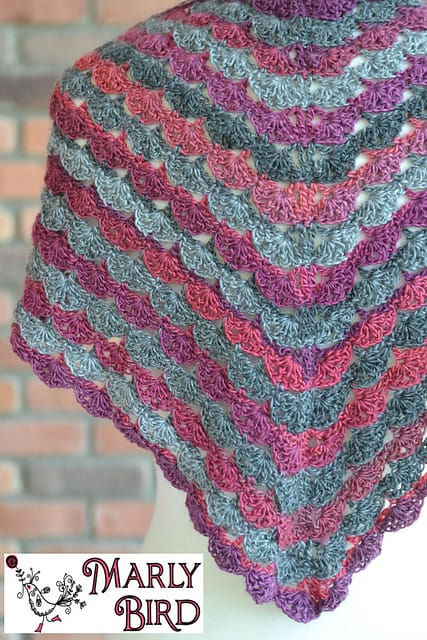 Free Crochet Pattern: No Stopping Me Shawl