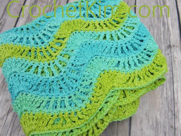 Malibu Fling Wrap Free Crochet Pattern