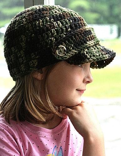Meagans Brimmed Beanie Free Crochet Pattern Crochetkim