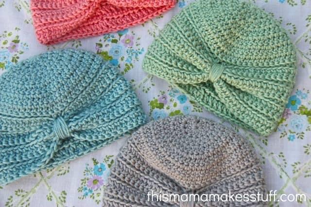 Baby Turban Free Crochet Pattern