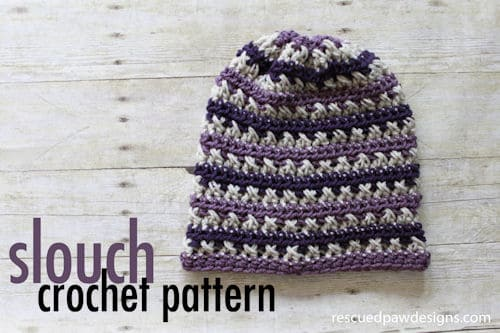 Free Crochet Pattern: Sugared Plum Slouch