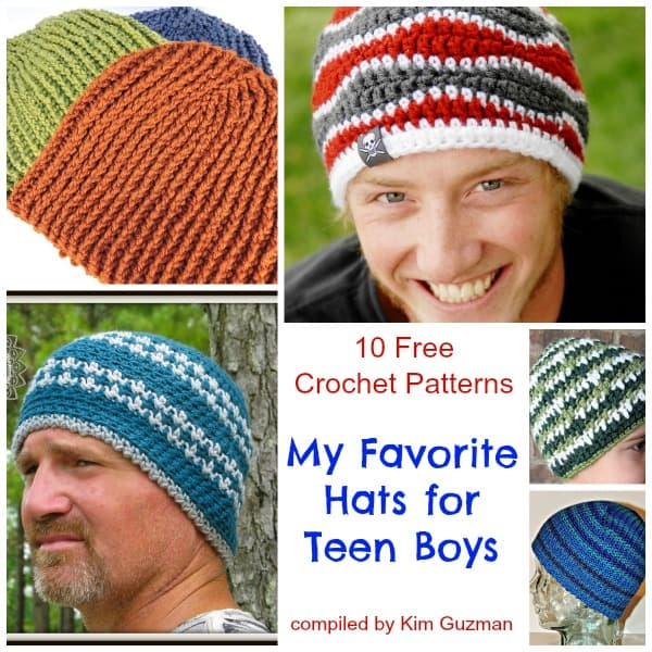 Link Blast Free Crochet Patterns For Hats For Teen Boys Crochetkim