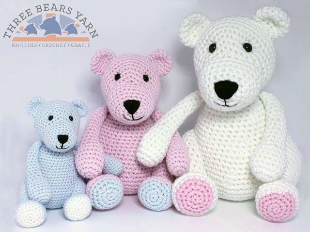 Free Crochet Pattern: The Three Bears