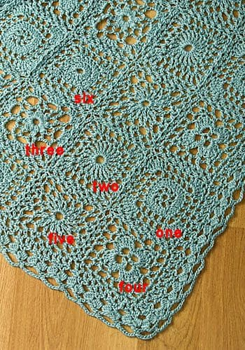 CrochetKim Free Crochet Pattern: Andante Throw