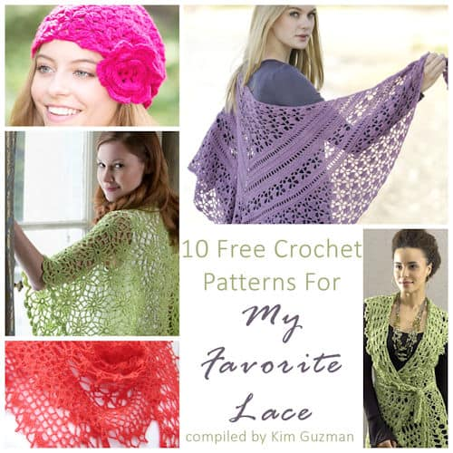 Link Blast: 10 Free Crochet Patterns for My Favorite Lace