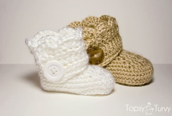 Free Crochet Pattern: Wrap Around Boots