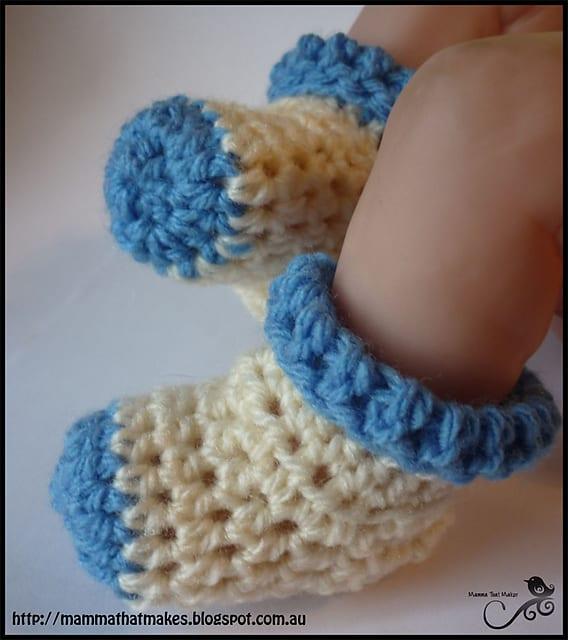 Free Crochet Pattern: Bootie Socks