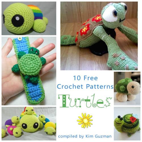 Link Blast: 10 Free Crochet Patterns for Turtles