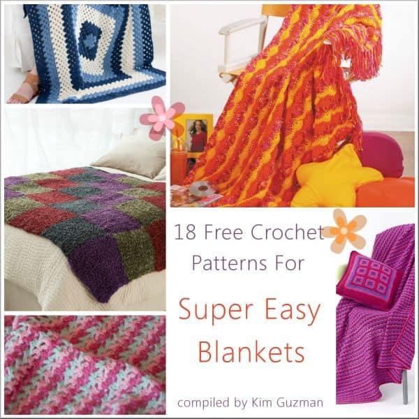 Link Blast Free Crochet Patterns For Easy Afghans Crochetkim