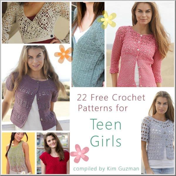 Link Blast Free Crochet Patterns For Tops For Teen Girls