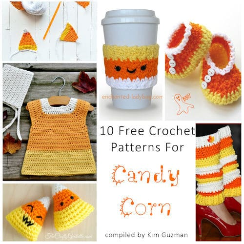 Link Blast: 10 Free Crochet Patterns for Candy Corn