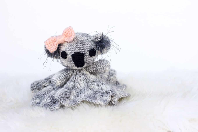 Cuddly Koala Lovey Free Crochet Pattern