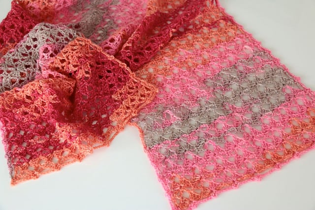 Free Crochet Pattern: Going To Wales Scarf