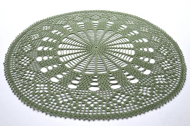 Ordered Diamond Doily Free Crochet Pattern Crochetkim