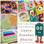 Crochet Chart Techniques With Free Practice Patterns