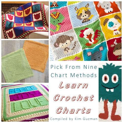 Link Blast: Crochet Chart Techniques With Free Practice Patterns