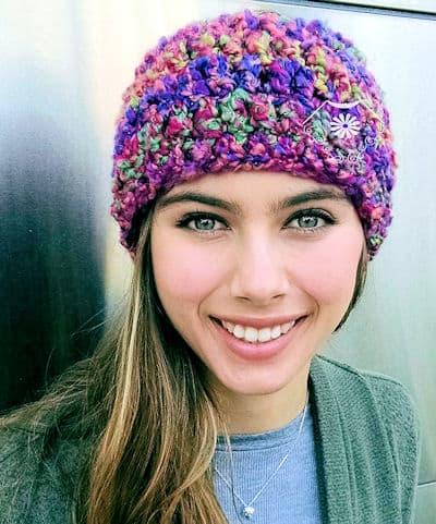 Free Crochet Pattern: Celestial Beanie