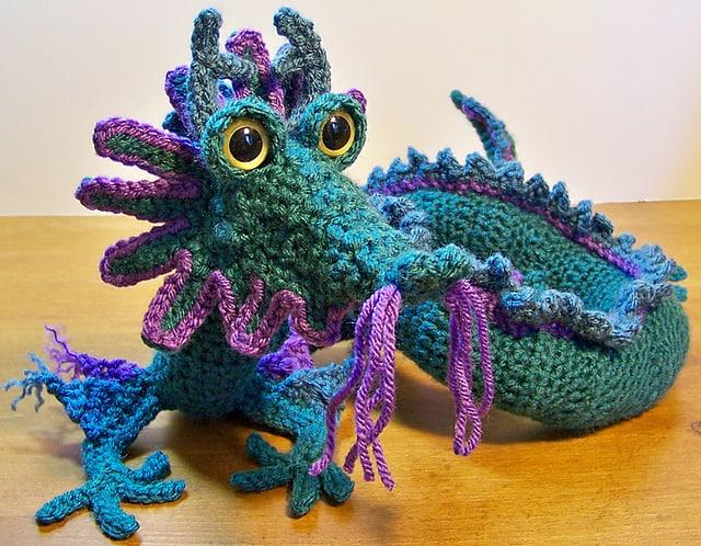Oriental Dragon Free Crochet Pattern Crochetkim