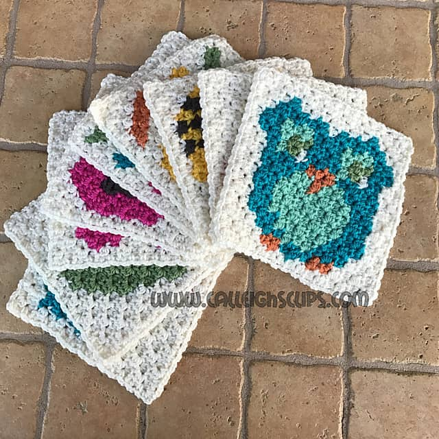 Free Crochet Pattern: Calleigh's Clips Baby Blanket