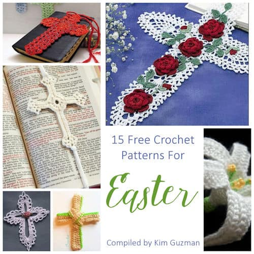 Link Blast: 15 Free Crochet Patterns for Easter Traditional