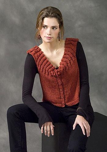 Free Knit Pattern: CrochetKim Strasbourg Vest