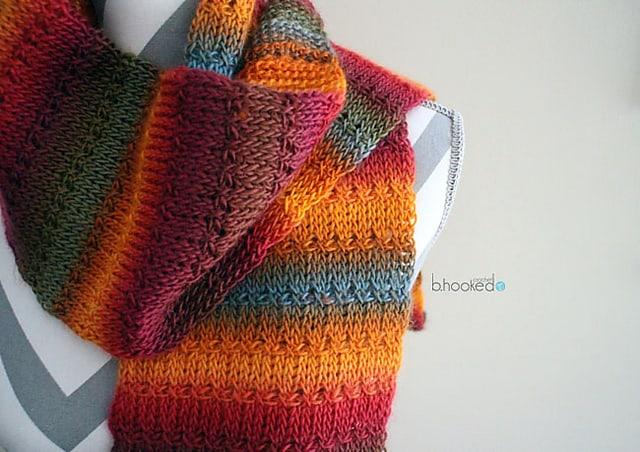 Free Crochet Pattern: Knit Alike Scarf