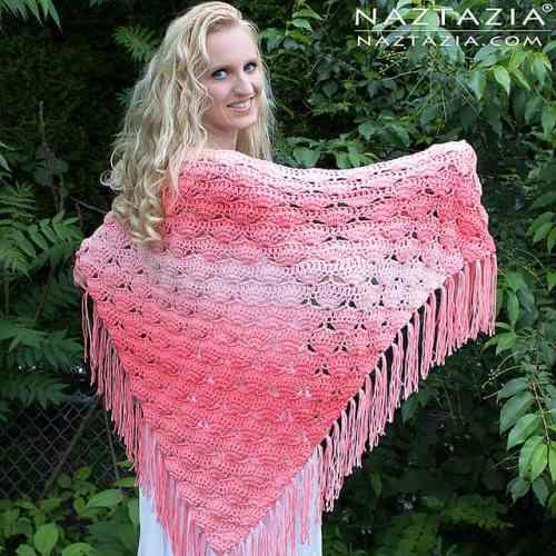 Free Crochet Pattern: Beachy Keen Shawl