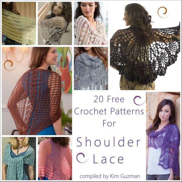 Link Blast: 20 Free Crochet Patterns for Fabulous Shawls
