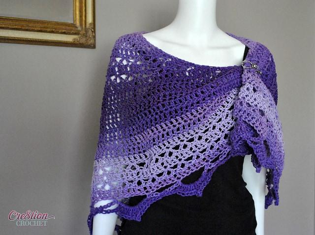 Free Crochet Pattern: Reign Shawl