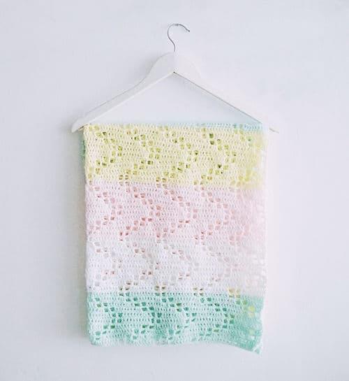 Free Crochet Pattern: Hopscotch Blanket