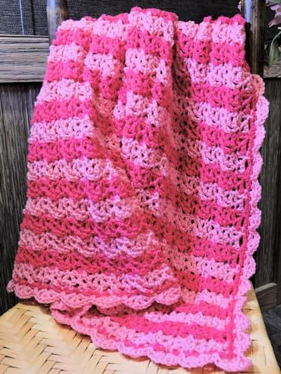 Tenga Venga Baby Blanket Free Crochet Pattern