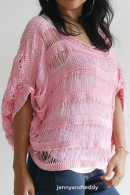 Free Crochet Pattern: Sugar Drop Summer Top