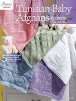 Tunisian Baby Afghans to Crochet by Kim Guzman
