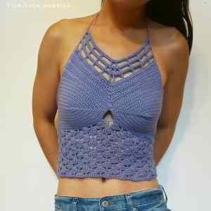 Link Blast: 10 Top Free Crochet Patterns for Halter Tops
