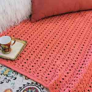 Peony Passion Throw CrochetKim Free Crochet Pattern