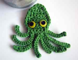Link Blast: 10 Free Crochet Patterns for The Awesome Octopus