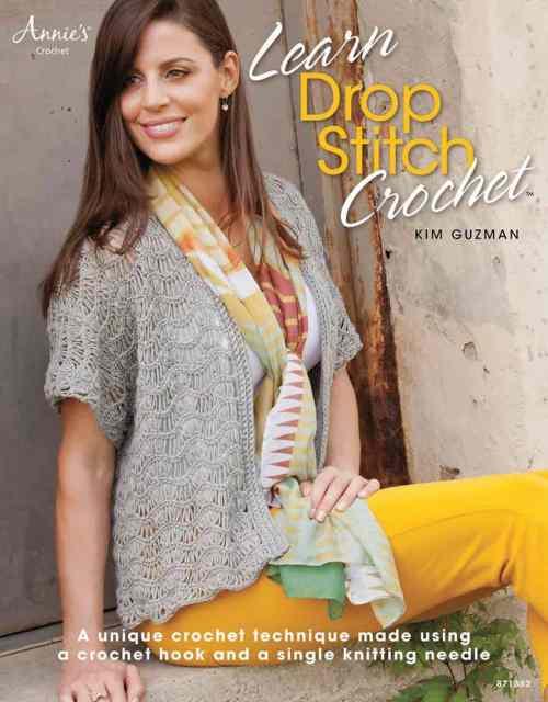 CrochetKim Weekly Giveaway: Learn Drop Stitch Crochet by Kim Guzman