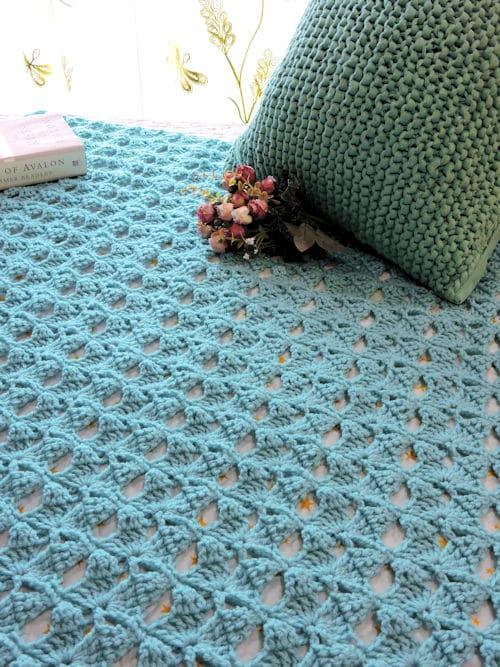 Magical Butterfly Throw | CrochetKim Free Crochet Pattern