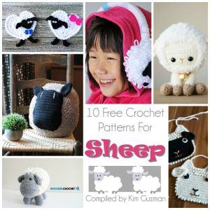 Link Blast: 10 Free Crochet Patterns for Sheep