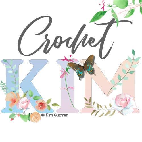 CrochetKim Floral Logo
